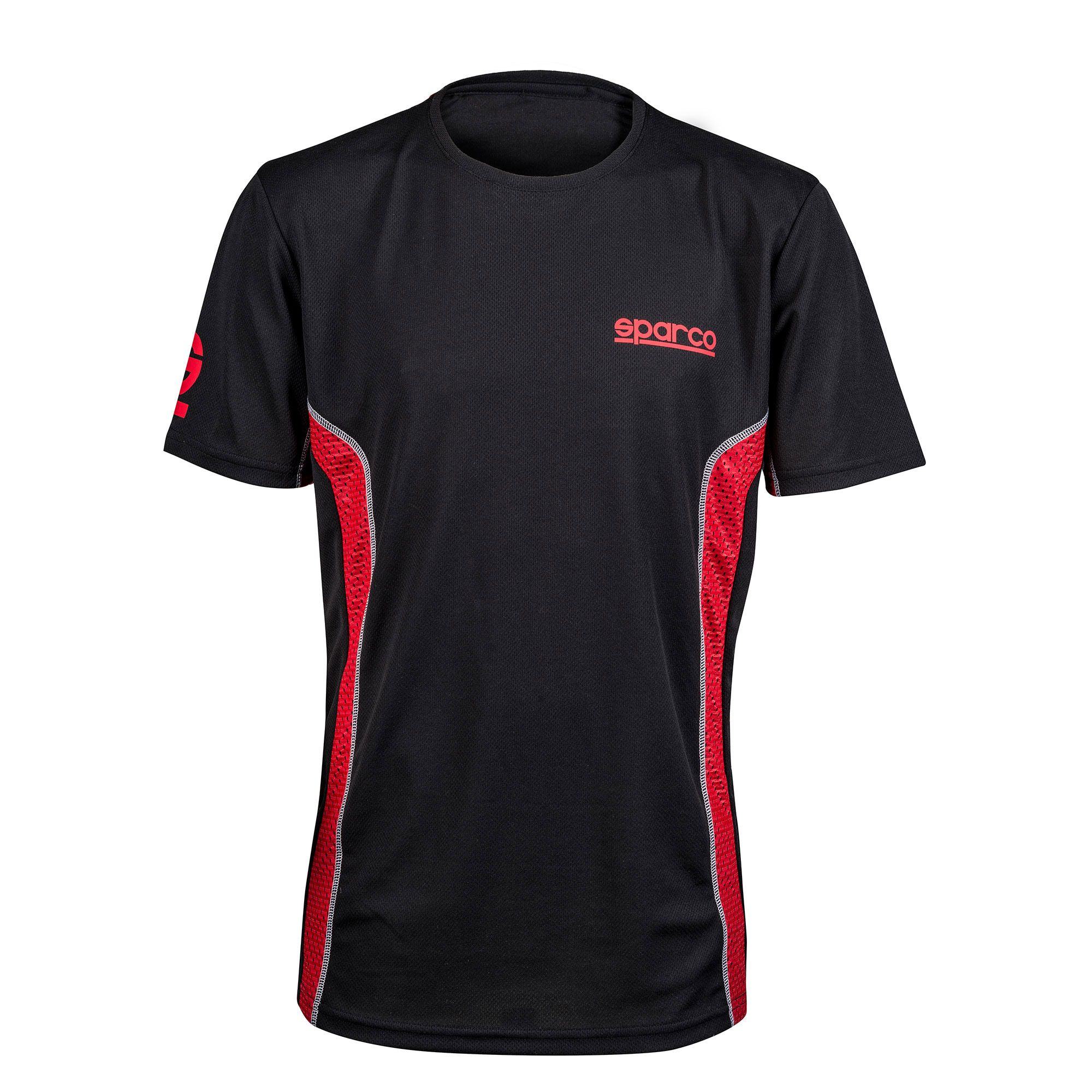 01219 Sparco TRON Racing Inspired T-Shirt 100/% Cotton Black in Sizes S-XXL New