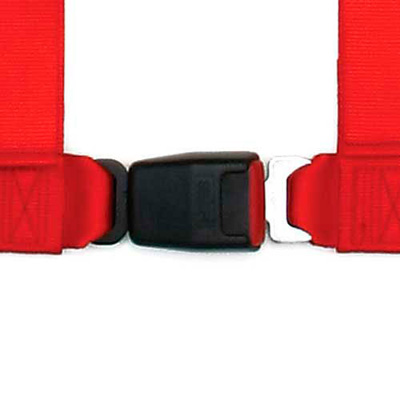 ECE Approved In Black Sabelt 4 Point Clubman Spring Catch Clip In Harness