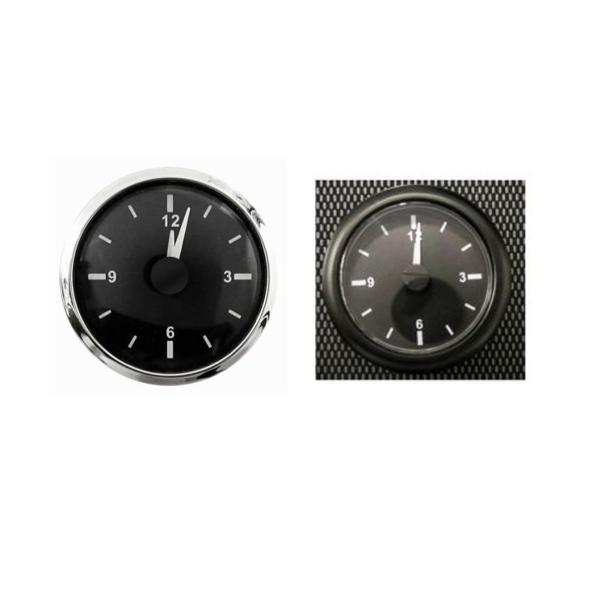 Race Dial E-Tech Engineering Motorsport Rally 52mm Analogue Clock Gauge
