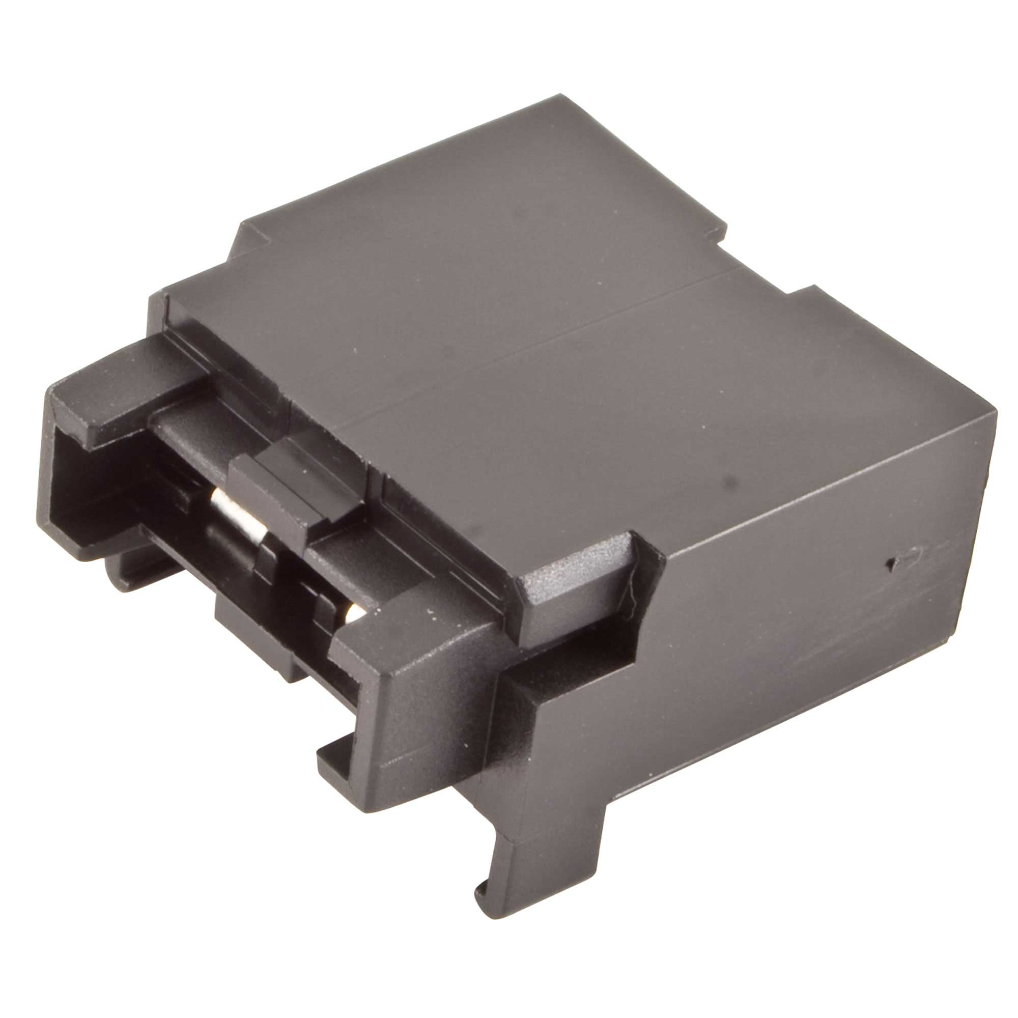 Auto Electrical Individual Standard Blade Fuse Holder Black Sold Each