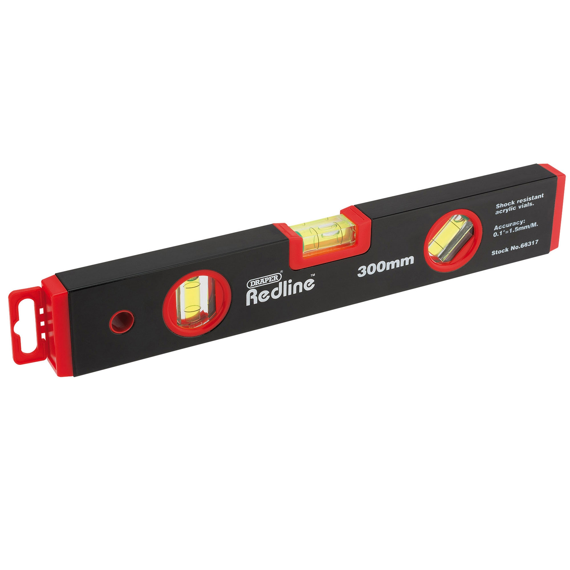Box Spirit Level 900mm Section Draper 68017 Redline