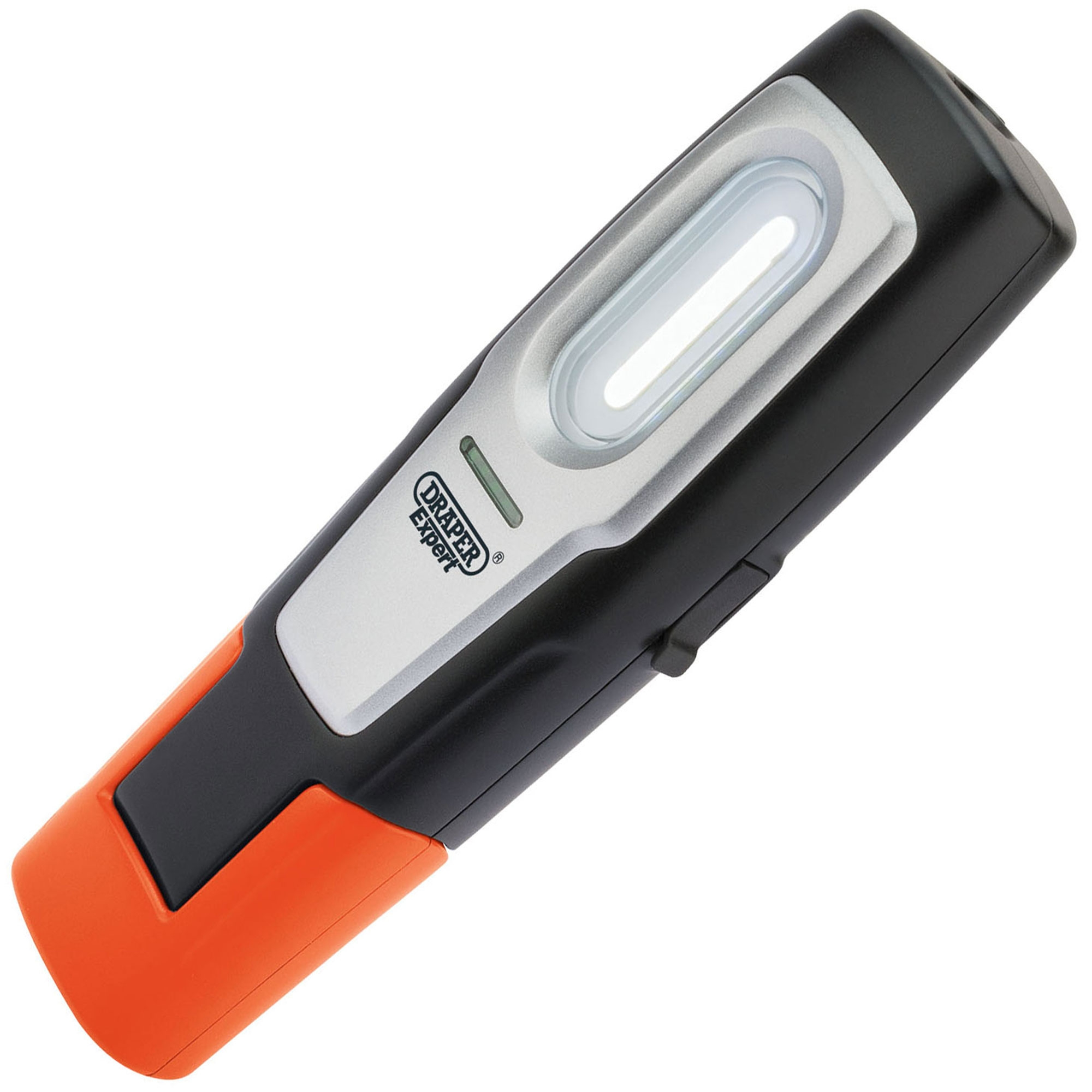 Draper 82684 Compact Inspection Lamp with Rechargeable 2W COB LED Orange