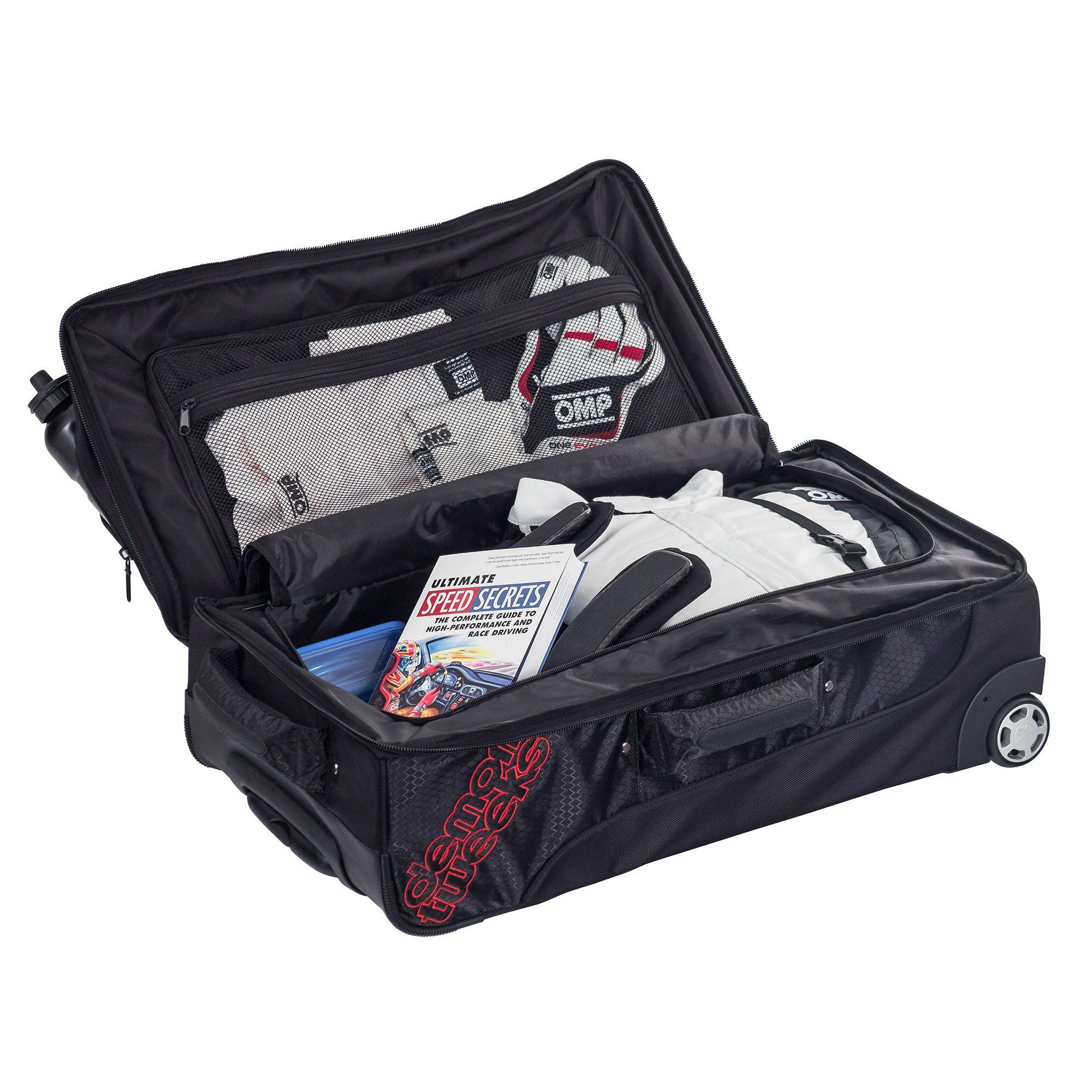 Black /& Red Rally//Motorsport//Racing//Garage Demon Tweeks Co Driver Brief Bag