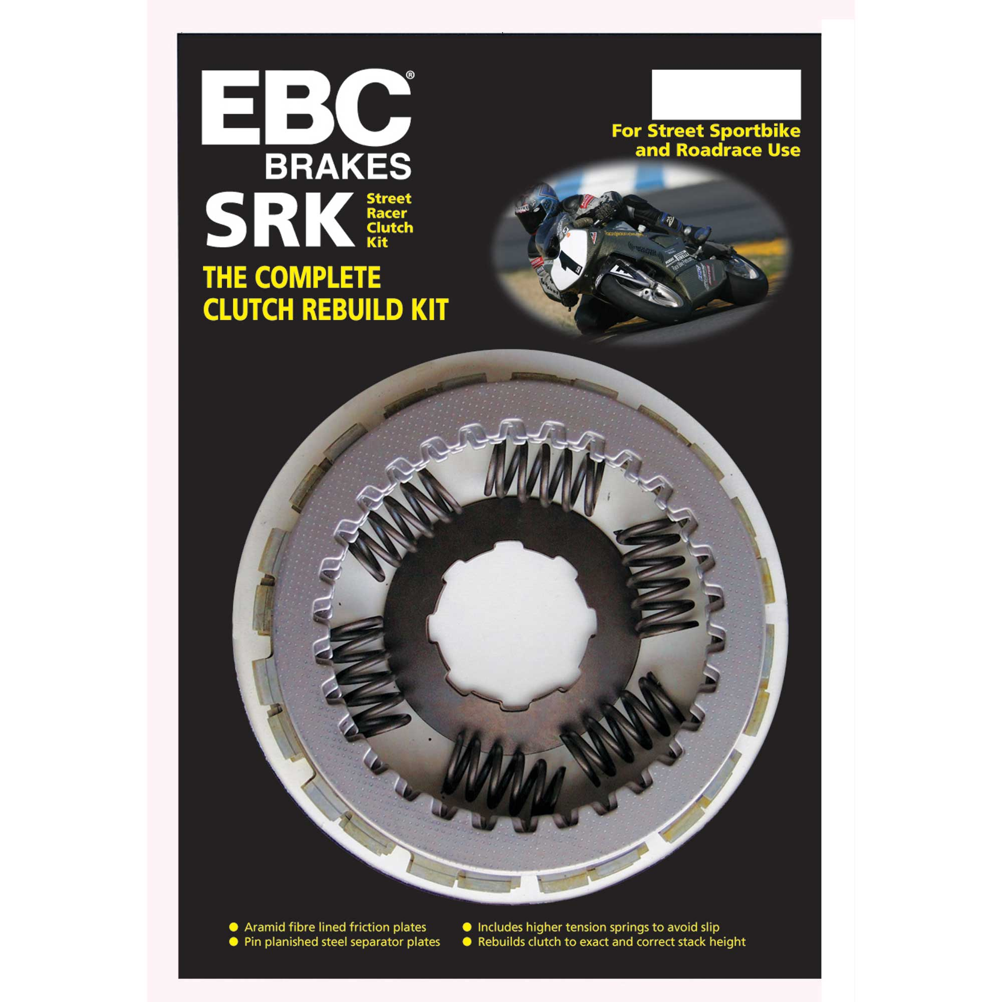 13S1 EBC SRK Complete Clutch Kit For Yamaha 2010 YZF-R6