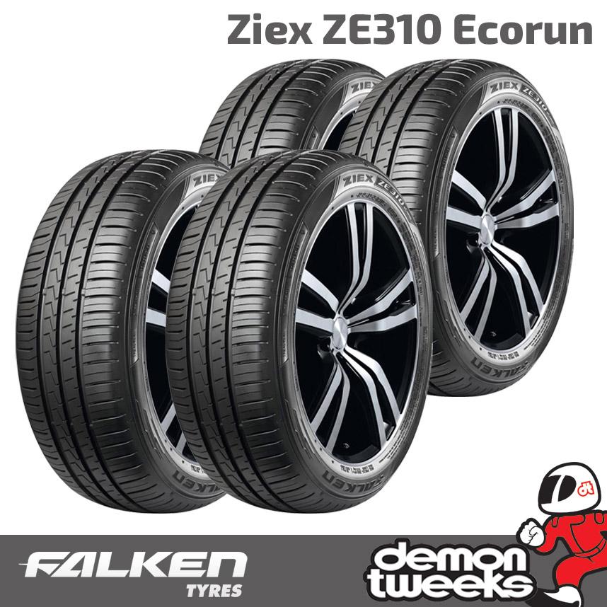 1956015 2 x 195//60//15 88V FALKEN ZIEX ZE310 ECORUN Performance PNEUMATICI 195 60 15