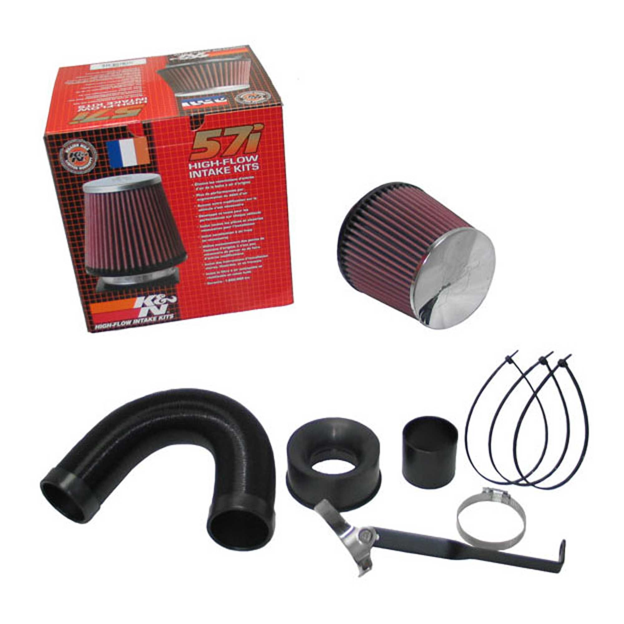 K/&N 57I SERIES HIGH FLOW AIR INTAKE INDUCTION KIT FOR SUBARU IMPREZA SPORT 00-06