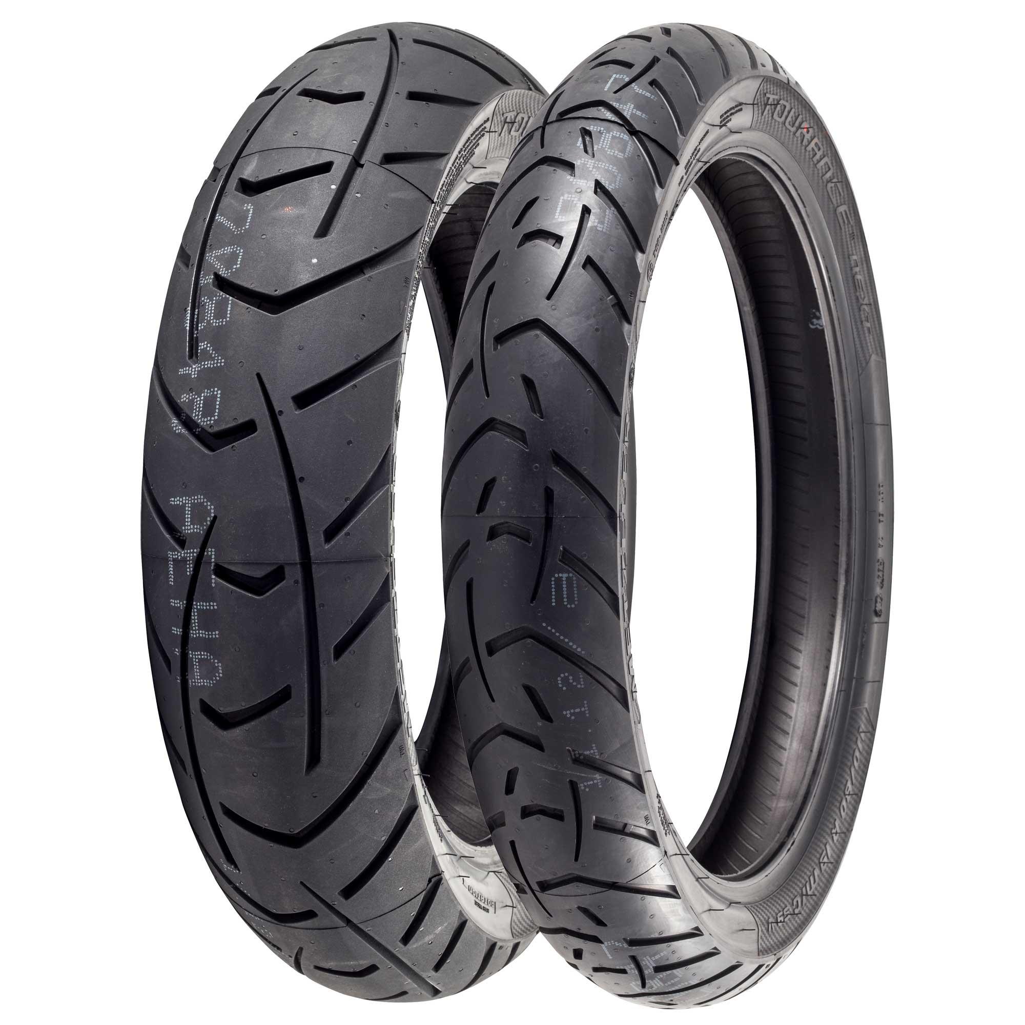 Metzeler Tourance Motorcycle Adventure Tyres 150//70//17 /& 110//80//19 Pair Deal