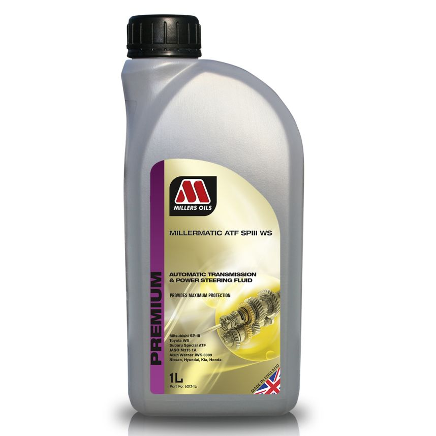 Millers Oils Millermatic ATF SPIII-WS Synthetic Automatic Transmission Fluid 1L
