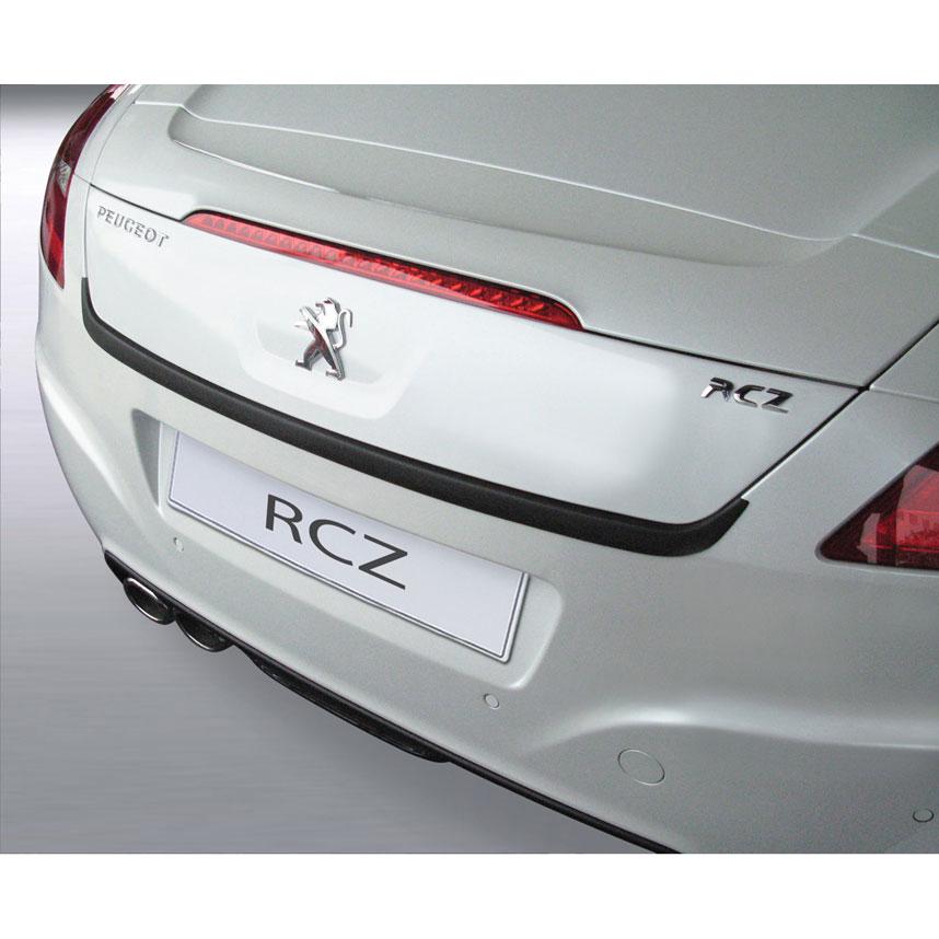 RGM Black Rear Bumper Guard For Peugeot RCZ 2008-2014
