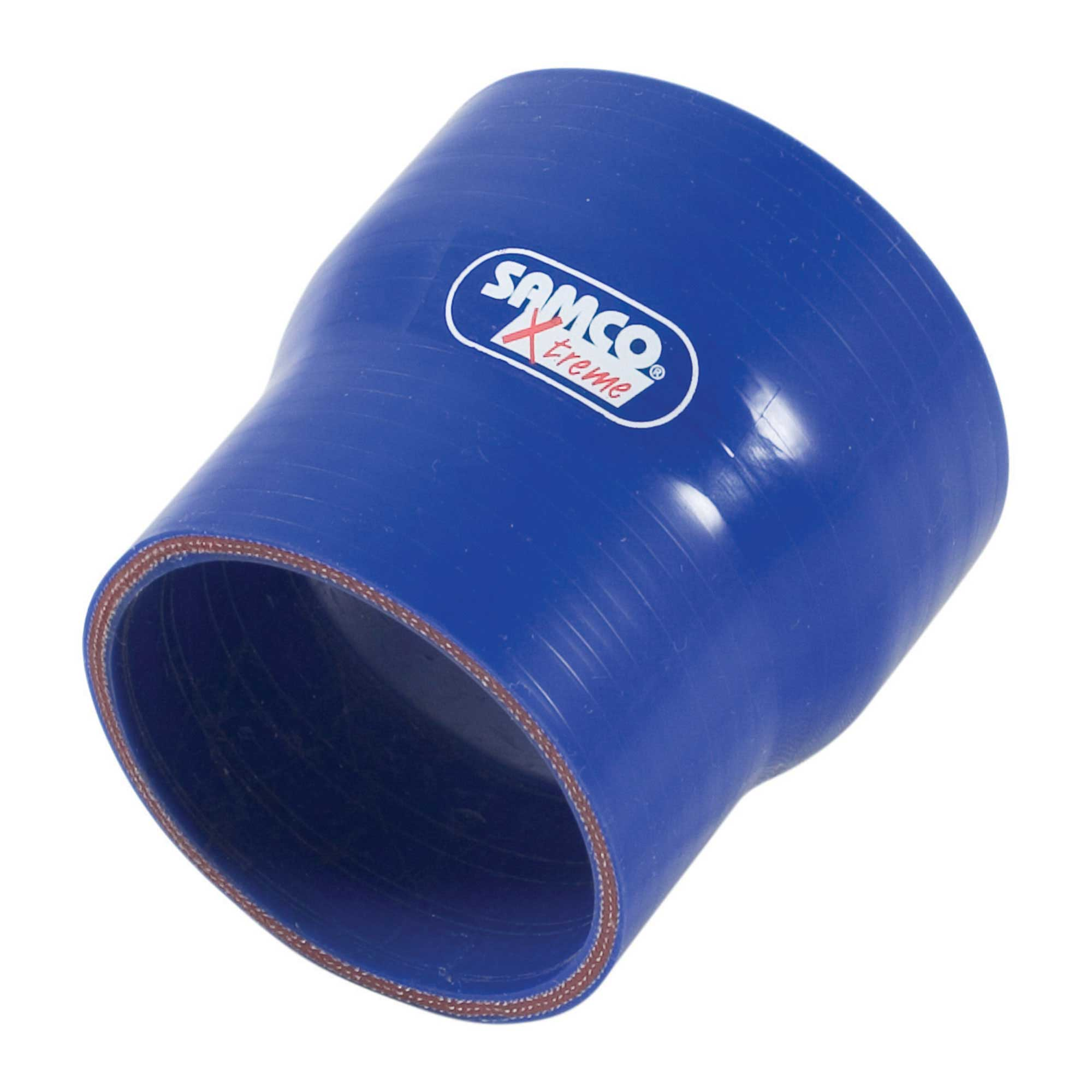 Samco Straight Reducer//Reducing Silicone//Silicon Hose 63-51mm In Blue