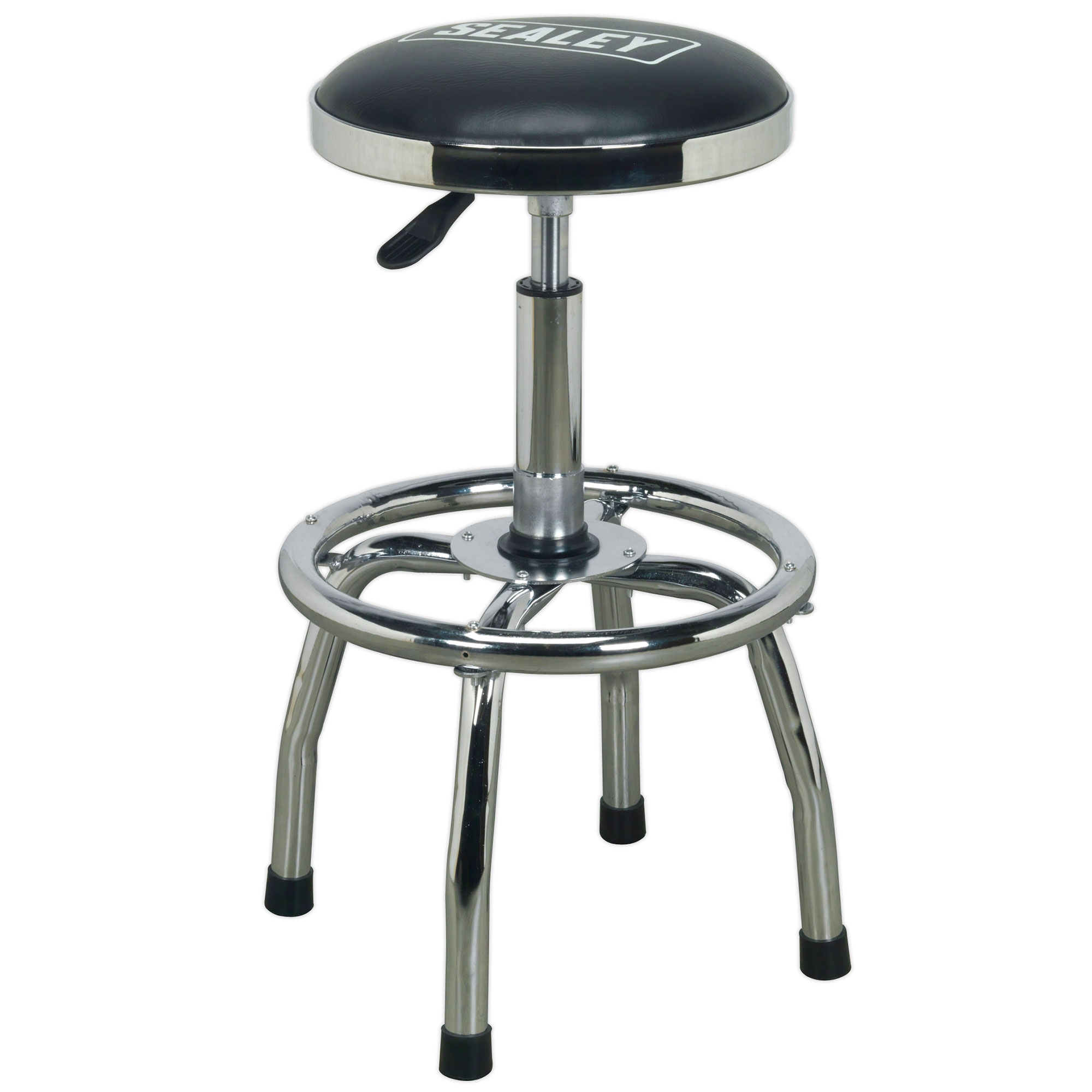 Sealey Workshop Stool Heavy Duty Pneumatic With Adjustable