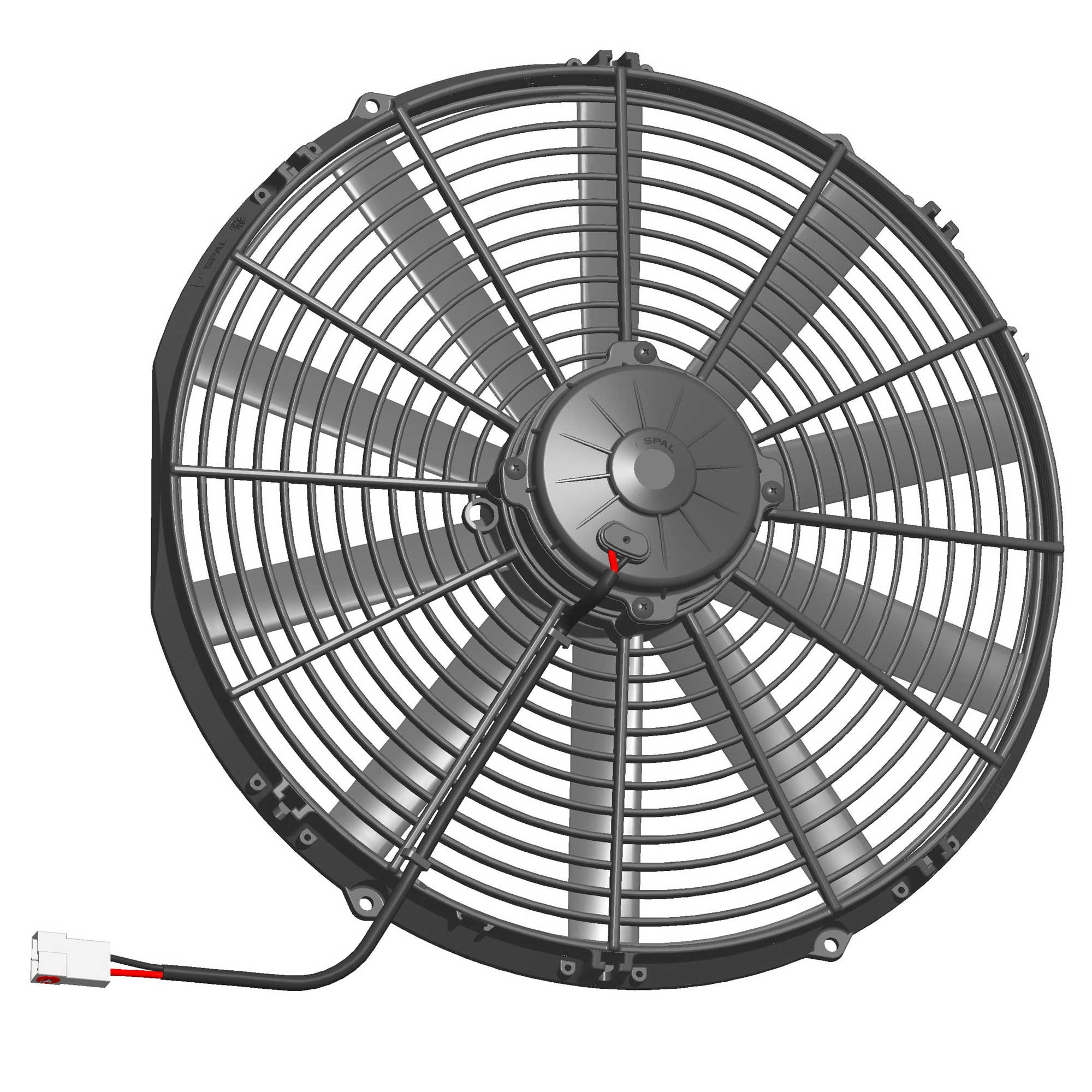 - Genuine Product! VA10-BP50//C-25S 24v Push Spal Axial Fan