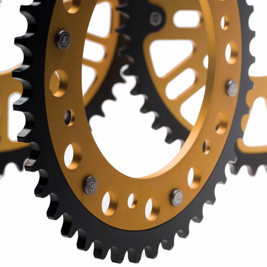 Supersprox Stealth Rear Sprocket  Kawasaki 2008 ZX10R E8F 1489-41