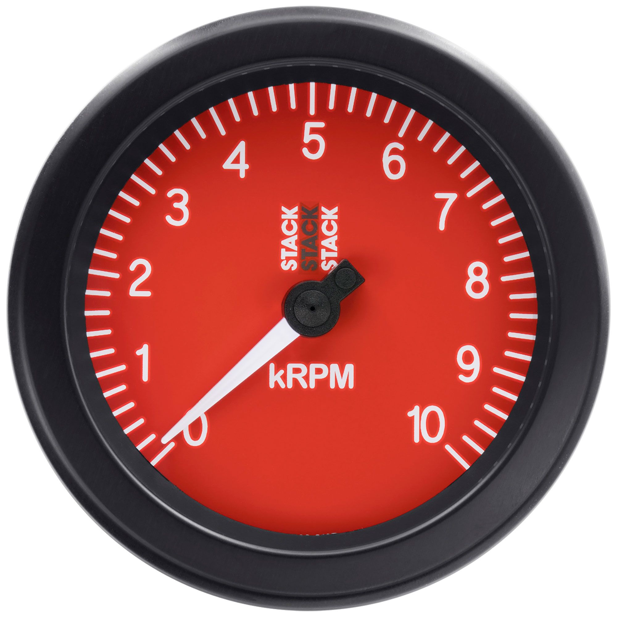 Stack ST100 85mm Track Race Car Tachometer With Black Dial Face0-8,000 Rpm