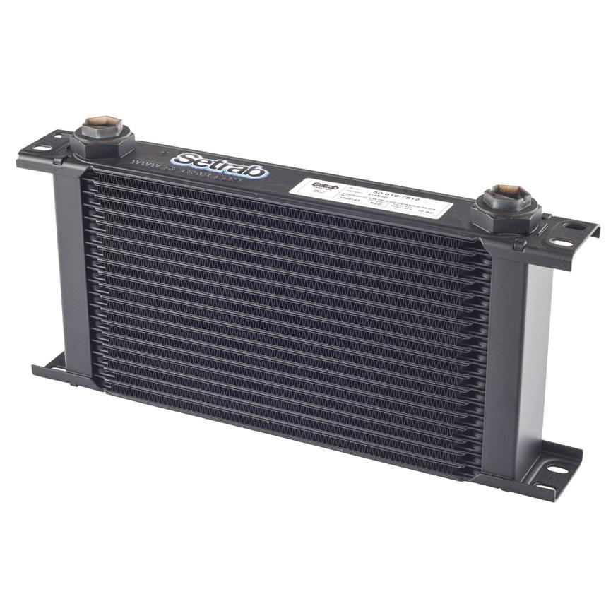 Setrab Proline Universal 235mm Matrix 13 Row Engine Oil Cooler M22 Female Metric
