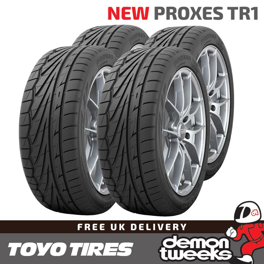T1R Road//Track Day Tyres 1955515 2 x 195//55//15 R15 85V Toyo Proxes T1-R