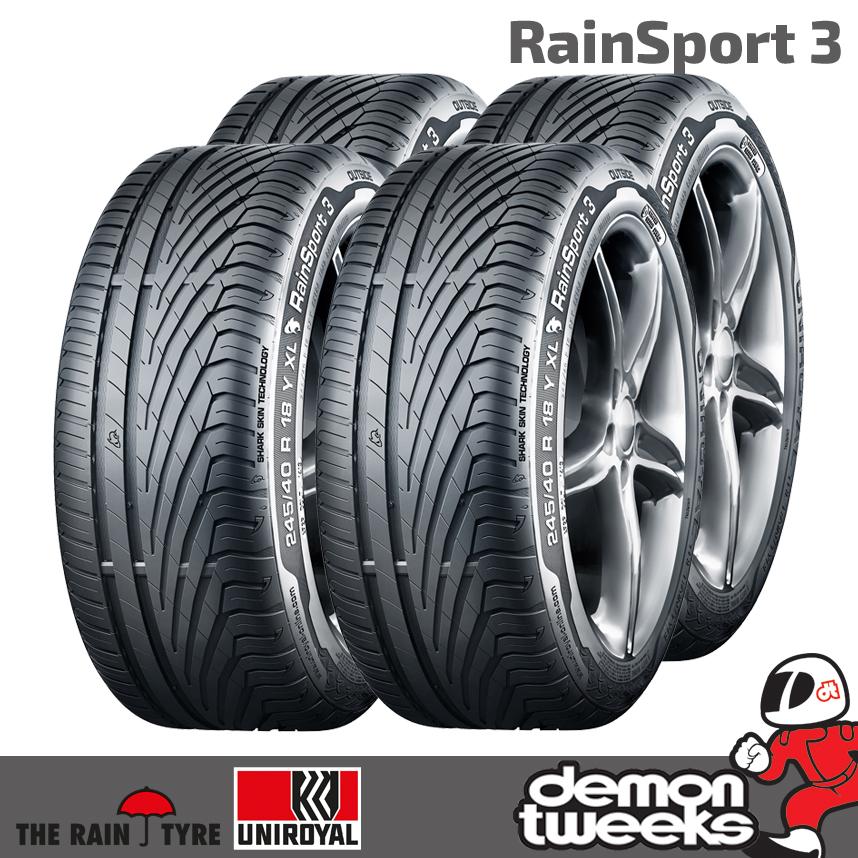 1x Sommerreifen UNIROYAL RainSport 3 245//45 R18 96Y FR